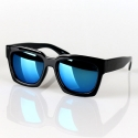겐지 Reus Sunglasses (Mirror Blue)