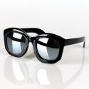 Lucca Sunglasses (Mirror Silver)