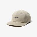THISISNEVERTHAT 6P CAP BEIGE