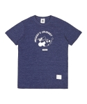 화이트블랭크레이블(WHITE BLANK LABEL) WHITE BLANK MICKEY SLUB TEES (NAVY)