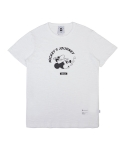 화이트블랭크레이블(WHITE BLANK LABEL) WHITE BLANK MICKEY SLUB TEES (WHITE)