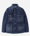 15 S/S COVERALL DENIM JACKET