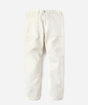 15 S/S FATIGUE PANTS WHITE