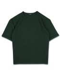 15 Oversized Roll-Up Tee(GREEN)