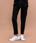 데어로에 Slim fit suiting slacks (bk)
