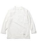 Remy Collarless Shirts Ivory