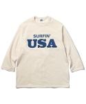Surfin USA L/S Shirts Off White