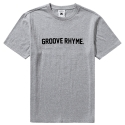 그루브라임 LOGO T-SHIRTS (MELANGE GRAY)