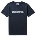그루브라임 LOGO T-SHIRTS (NAVY)