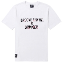 그루브라임 FLOWER X SUMMER T-SHIRTS (WHITE)
