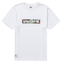 그루브라임 FLOWER2 T-SHIRTS (WHITE)