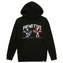 15 SP PRIMITIVE Fight II Pullover Hoodie Black
