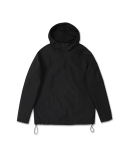 15SS DEFTSKIN ANORAGLAN HOODY [BLACK](WATERPROOF) MUSINSA EXCLUSIVE