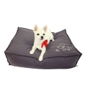 몽슈슈(MONCHOUCHOU) Milkbone Cushion-Dark Gray