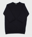 three-quarter Sweat Shirt (navy) 쓰리쿼터 스웨트셔츠