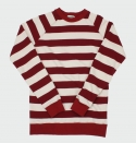 실크웜(SILKWORM) 4x4 BORDER Sweat Shirt (wine) 4x4 보더 스웨트셔츠