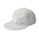 레이어 유니온(LAYER UNION) LINEN SNAPBACK GREY