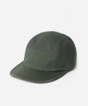 15 S/S COTTON MIXED 5 PANEL CAMP CAP OLIVE