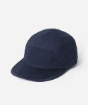 15 S/S COTTON MIXED 5 PANEL CAMP CAP NAVY