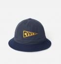 15 S/S CVNT PENNANT BUCKET HAT GRAY/NAVY