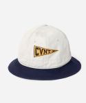 15 S/S CVNT PENNANT BUCKET HAT BEIGE/NAVY