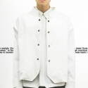아타르 Bridge bomber Jacket White
