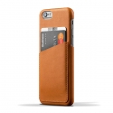 무쪼(MUJJO) Leather Wallet Case for iPhone 6 - Tan