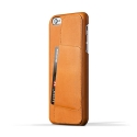 무쪼(MUJJO) Leather Wallet Case 80° for iPhone 6 Plus - Tan