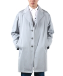 OVERSIZE TRENCH COAT (SKY BLUE)