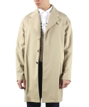 범() OVERSIZE TRENCH COAT (BEIGE)
