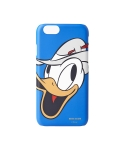 WHITE BLANK HUMMING DONALD iPHONE 6 CASE (BLUE)