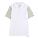 언티지() UTT 17 anchor pk shirts_white(남여공용)