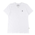 UTT 19 anchor v-neck pocket t-shirts_white(남여공용)