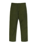 레이든 REVERSED SATEEN FATIGUE PANTS-OLIVE