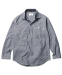 Vernon Chambray Shirt Cool Grey