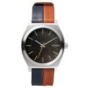NIXON Time Teller Dark Copper/Navy/Saddle