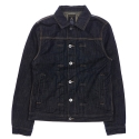 [ROMANTICCROWN]MONDAY DENIM JACKET_BLACK
