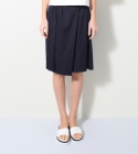 모한(MOHAN) [MOHAN] SIDE PLEATS SKIRT NAVY 모한