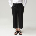 테일러워커스(TAILOR WORKERS) TWS WIDE SLACKS BK