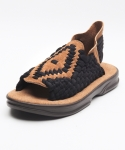 15AZ011O/BR - 아즈텍 AZTEC - BLACK - COFFEE / COFFEE - ORIGINAL / BROWN