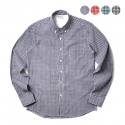 에이테일러(A-TAILOR) Gingham check shirt