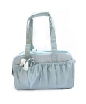 몽슈슈(MONCHOUCHOU) Simply Cotton Bag-Sky Blue