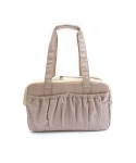 몽슈슈(MONCHOUCHOU) Simply Cotton Bag-Beige