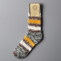 모스그린(MOSSGREEN) NEP STRIPE SOCKS - 002