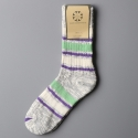 모스그린(MOSSGREEN) NEP STRIPE SOCKS - 004