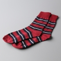 모스그린(MOSSGREEN) OLD STRIPE SOCKS - 002