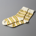 모스그린(MOSSGREEN) OLD STRIPE SOCKS - 004