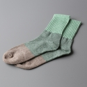 모스그린(MOSSGREEN) 3 BRICK SOCKS - 001