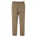 WASHED COTTON PANTS ES [BROWNI]