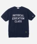 15 S/S SHORT SLEEVED SWEAT T-SHIRTS NAVY